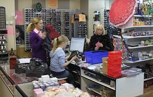 Торговый зал Broshkina.ru, выписка товара оптовикам
